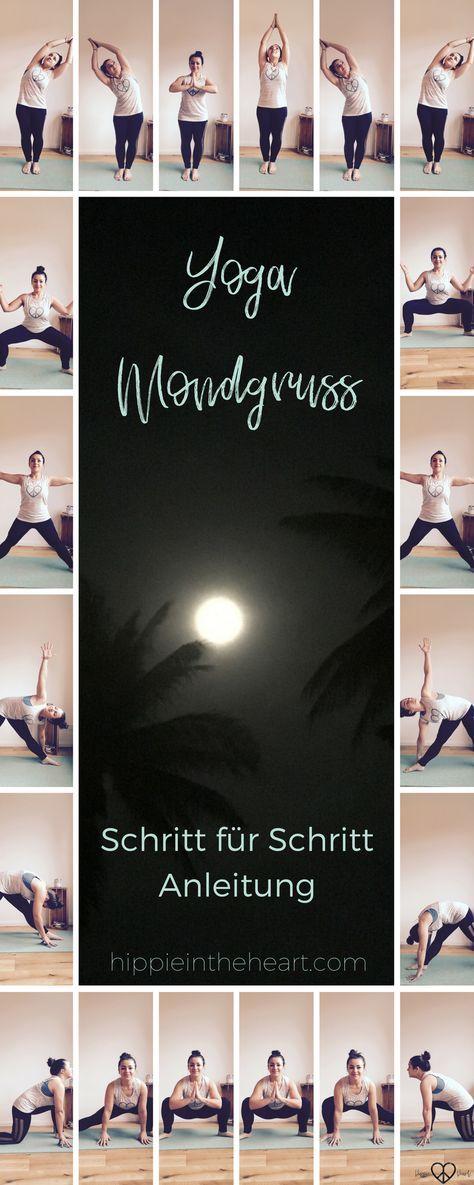Yoga // Der Mondgruß eine Schritt für Schritt Anleitung – Sandra Stockmann