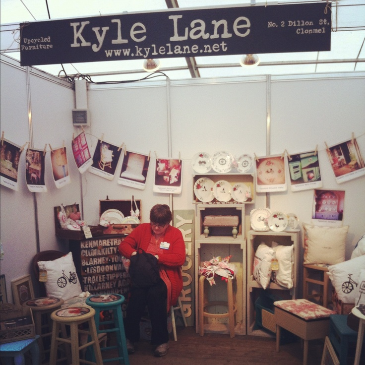 Kyle lanes stand at the national ploughing championships