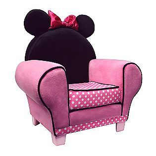 Minnie chair for watching Mickey Mouse Clubhouse!Mice, Little Girls, Mickey Mouse, Minniemouse, Girls Room, Minnie Mouse, Mouse Chairs, Disney, Accent Chairs