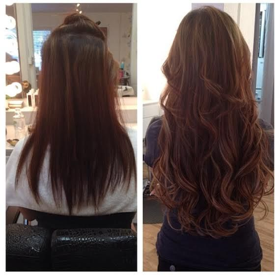 18-20 Inch Hot Heads Hair Extensions!