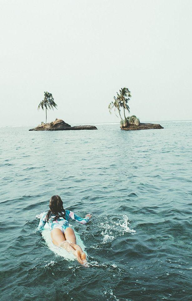 Bandit Kids island life inspo || palm trees, ocean breeze, sun, sand, salty ocean air, tropical island paradise || @Bandit Kids #banditkids #islandlife #billabong
