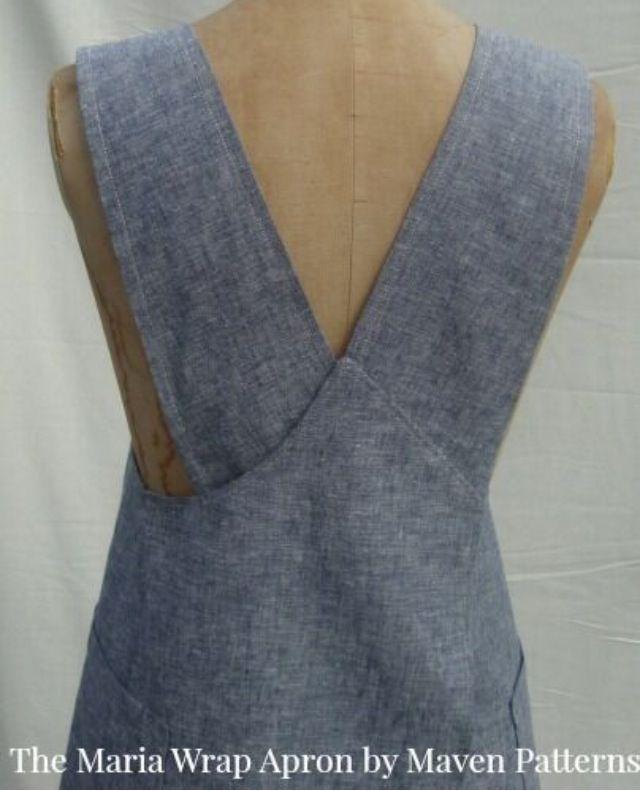 The Maria Wrap Apron Pdf Sewing Pattern Www