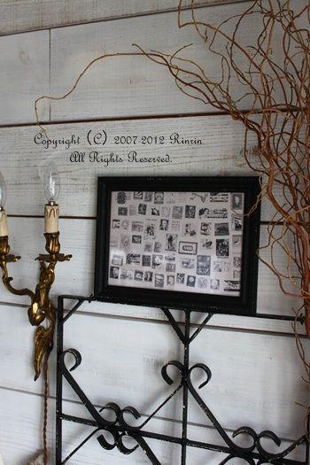 古切手で遊ぶ・・・! : フレンチシックな家作り。Le petit château