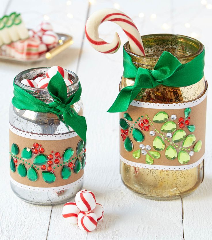 How To Make A Bling Mason Jar Holiday Crafts With Jo Ann