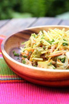 Salade de poulet comme au Brésil: salpiçao de franco <3