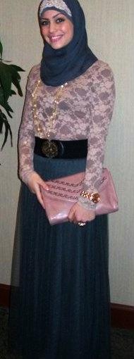 #Hijab Dress Style.