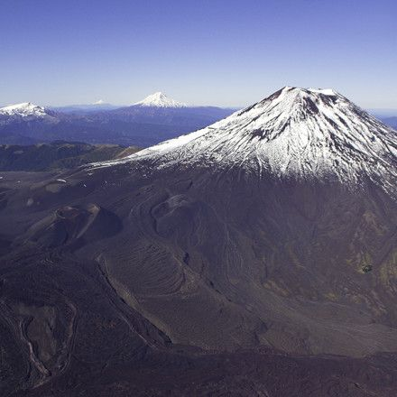 volcán Lonquimay ,Llaima. Chile
