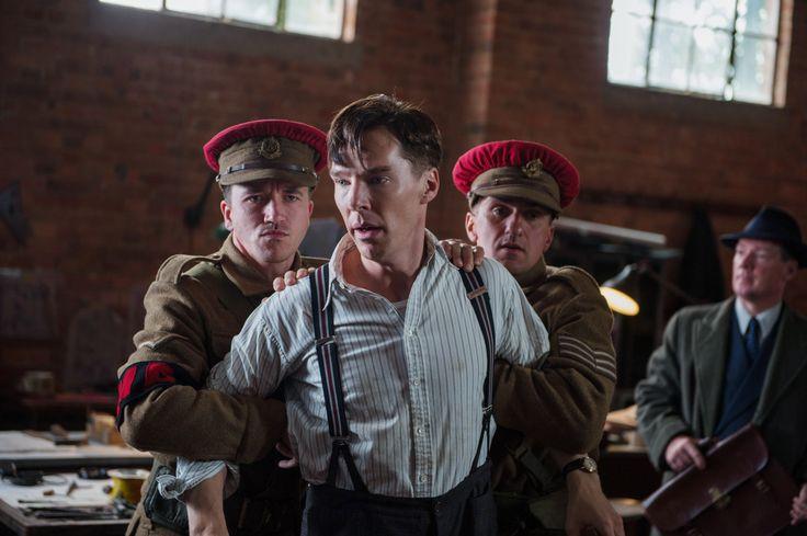 Film still from Morten Tyldum's THE IMITATION GAME - starring Benedict Cumberbatch, Keira Knightley, and Matthew Goode - screening at #TIFF14