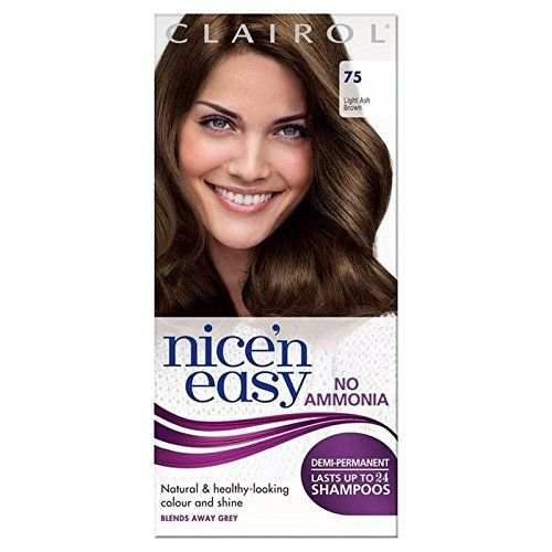 Nice n Easy No Ammonia Hair Dye Light Ash Brown 75 ** You can find out more details at the link of the image.