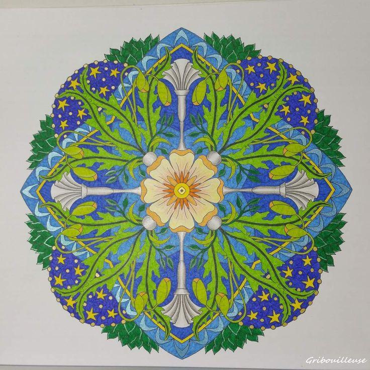 The 8 Best Mandalas Fleuris Images On Pinterest