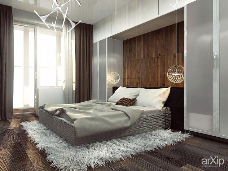 Дизайн спальни: интерьер, зd визуализация, квартира, дом, спальня, современный…