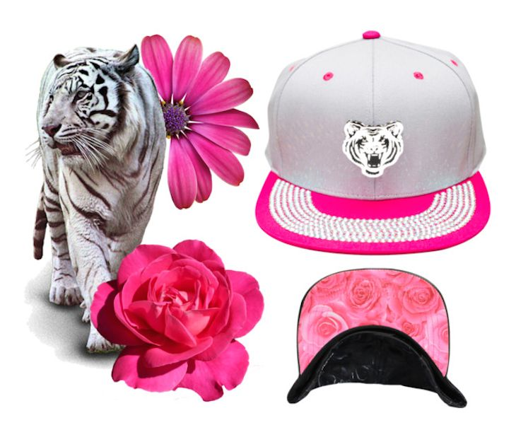 #fashion #streetstyle #sporty #cap #baseballcap #tiger #accessories #coolhunting  #cap #cappelli #pink #animal