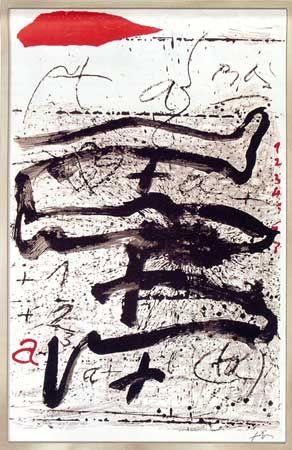 Antoni Tapies - Memoria de la Libertad (1990)