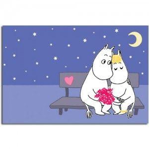 Moomin Postcard: Love