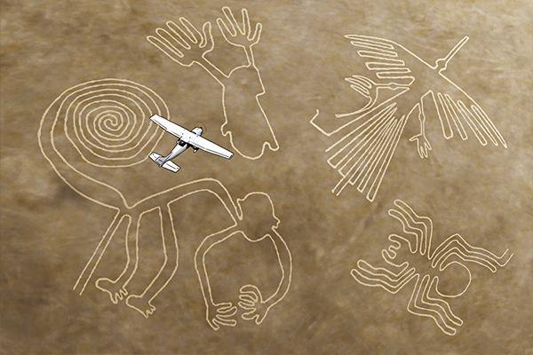 Hay más cosas en el cielo y en la Tierra ...: LAS LINEAS DE NAZCA.el misterio continua..