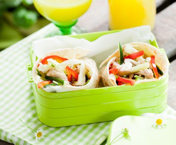Recept: Makreelwraps | Gezond Eten Magazine