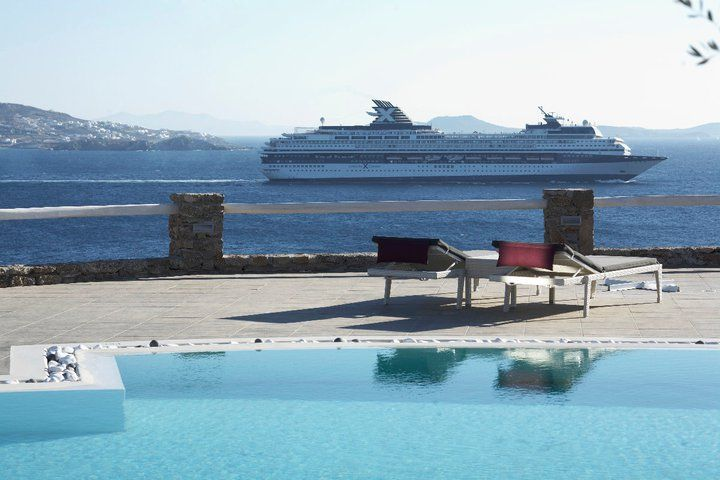 An Authentic Mykonos Beach Hotel.. Amazing view!!!