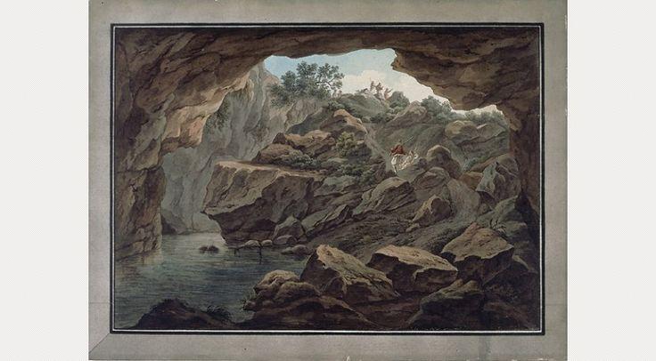 Edward Dodwell, A Katabathra of Lake Copais by Edward Dodwell, 1805–1805