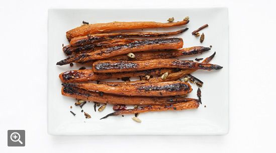 Roasted Carrots with Ras El Hanout