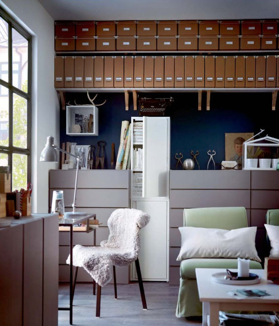 is page 135 of the new ikea catalogue your favourite click through to see more - Ikea Modern Home Office