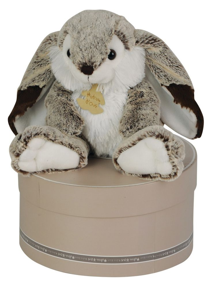Peluche Lapin Marius Z'animoos Histoire d'Ours
