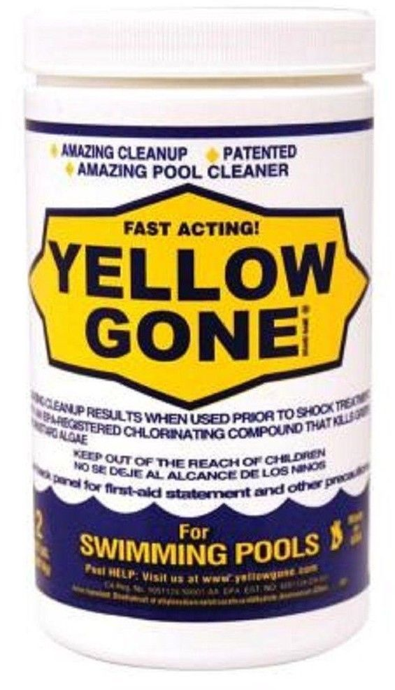 2 lb. Fast Acting Pool Cleanup Green Mustard Algae Pool Algaecides #poolalgaecide #algaecides