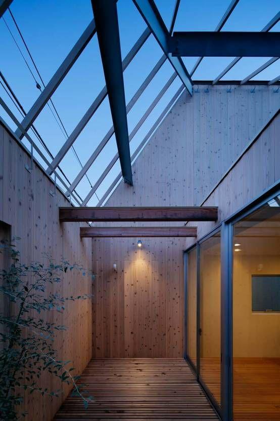 ディンプル建築設計事務所 の モダンな バルコニー&ベランダ&テラス 駒沢の家