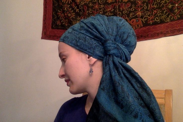 Beginner's Luck!  The Easiest Wrap ~ Wrapunzel Tichels Super Easy!