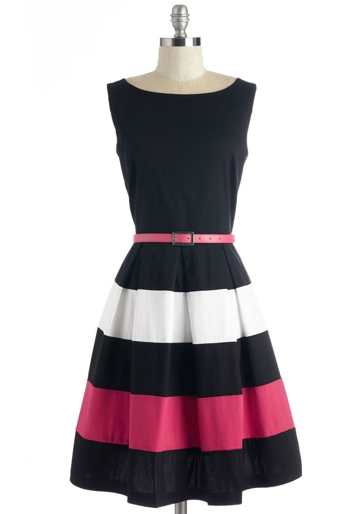 Lo and Be Bold Dress. Bear witness to the brilliance that is this black dress! #black #modcloth