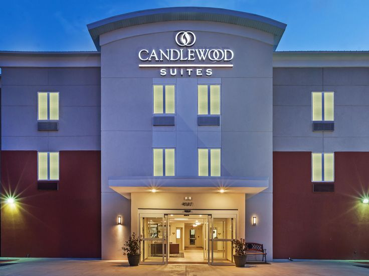 Official site of Candlewood Suites San Angelo. Enjoy the comforts of home with full size kitchens, fitness gym, free 24 hours laundry, and free movie & CD rental. Book online for Best Price Guarantee.