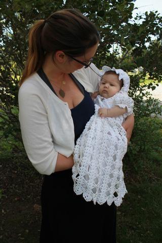 Blessed Christening Set Crochet Pattern