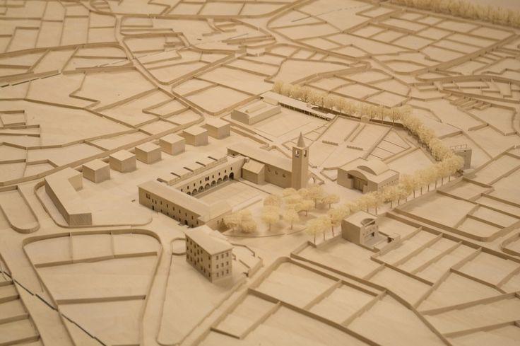 Luigi Snozzi, Architecture, Monte Carasso, Convent, Elementary school model
