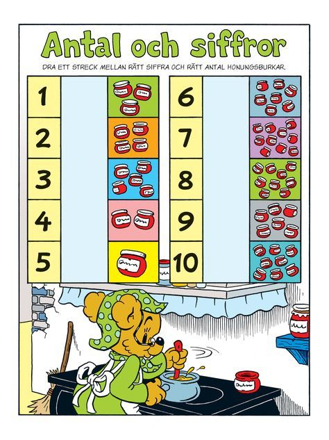 Siffror – Bamse.se