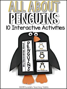 This unit provides interactive activities to teach all about penguins! Tie in a fascinating subject like penguins to your science standards with this unit. Fill your own science notebook or create a 3 dimensional penguin science book full of interactive hands on science lessons!Included:Life Cycle of a PenguinPenguin AdaptationsLabel a Fledgling Penguins VS.
