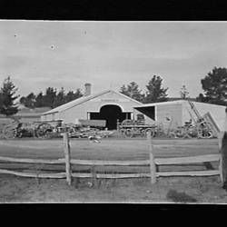 Glass Negative - Daniel Harvey Pty Ltd, Orchard Implements & Equipment, Box Hill, Victoria, circa 1920s