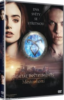 """Film na dvd """"MORTAL INSTRUMENTS: Město kostí"""""""