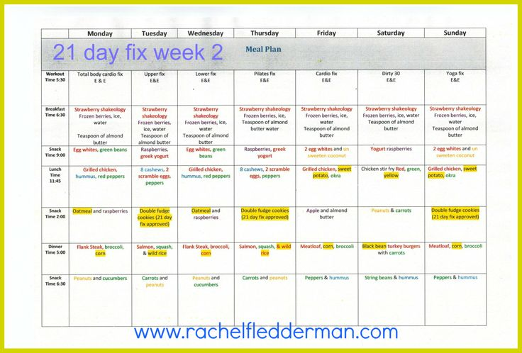 http://rachelfledderman1.blogspot.com/2014/02/21-day-fix-shopping-list-week-2.html