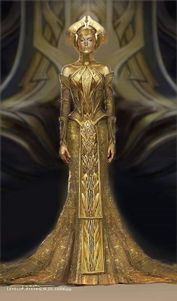 Elizabeth Debicki In Guardians Of The Galaxy Vol 2 2017 Fantasy Dress Costume Design Fantasy Fashion