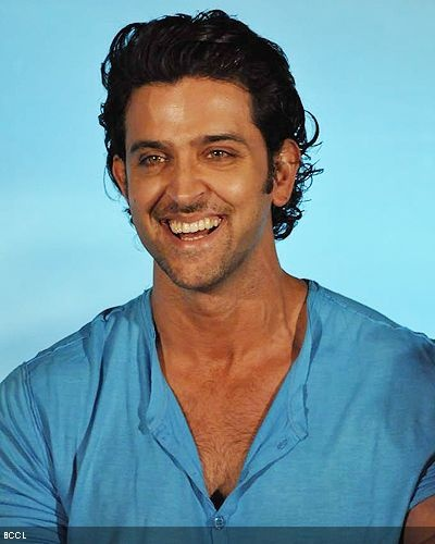 I love it how he looks kind of goofy and overzealous here.  Settle down, Hrithik.