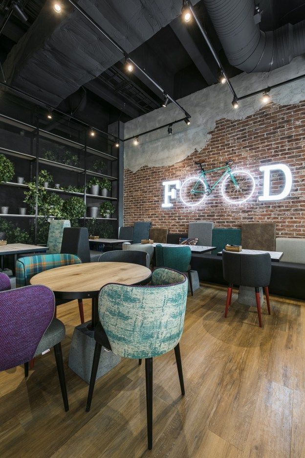 Best ideas about industrial restaurant on pinterest