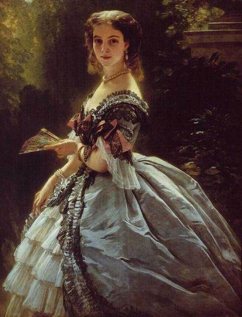 Franz Xaver Winterhalter Princesse Trubetskaya 1859