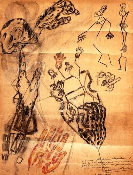 Antonin Artaud. Les corps de terre 1946