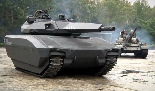 This stealth tank uses some nifty cloaking tech. I think it looks like 1980 Battlezone! Welcome to the Atari future http://en.wikipedia.org/wiki/Battlezone_%281980_video_game%29