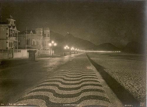 Copacabana à noite década de 20