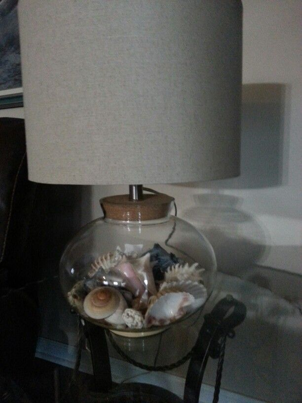 17 Best Images About Make My Own Seashell Lamp On