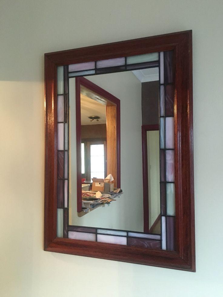 Leadlight mirror