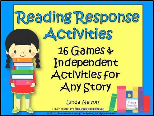 Response activities to use after reading any story! Comprehension, decoding, fluency, writing, and vocabulary. Six games and ten independent activities for first, second, and third grades.  $    https://www.teacherspayteachers.com/Product/Reading-Response-Activities-for-Any-Story-202117