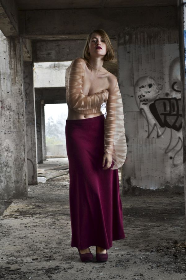 Renacer - short collection by Francisca Poch, via Behance
