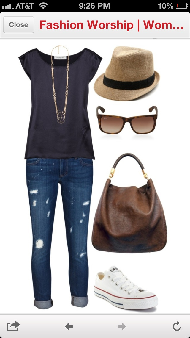 Going into town outfit.