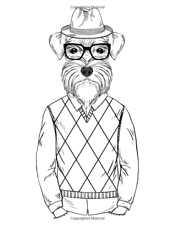 hipster coloring pages - 17 best images about coloring pages on pinterest